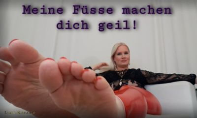 11134 - Big feet verbal humiliation