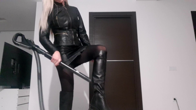 13749 - Leather Make You To Cum