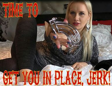 1472 - Time to get you in place, jerk!