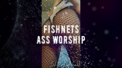 16844 - Fishnets Ass Worship