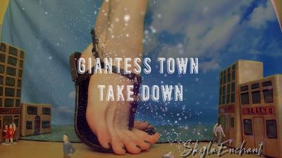 16880 - Giantess Town Take Down