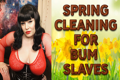 17692 - SPRING CLEANING FOR BUM SLAVES