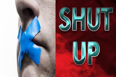 18021 - SHUT UP