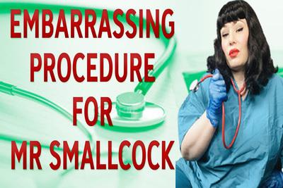 18166 - EMBARRASSING PROCEDURE FOR MR SMALLCOCK