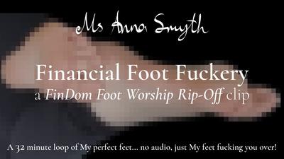 18997 - Financial Foot Fuckery