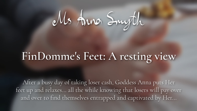 19014 - FinDomme's Feet: A resting view
