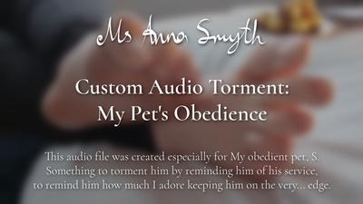 19188 - Custom Audio Torment: My Pet's Obedience