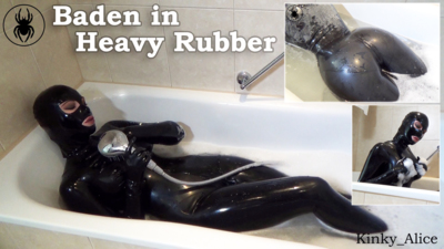 4484 - Bathtime in Heavy Rubber