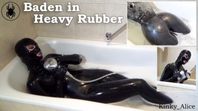 4484 - Bathtime in Heavy Rubber