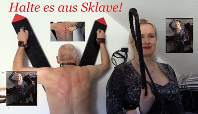 502 - Hold it out slave!! 45 min of pleasure part4