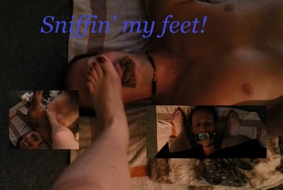 503 - Sniffin' my feet