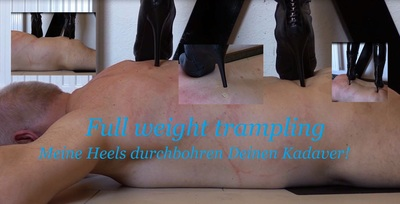 508 - Full weight trampling