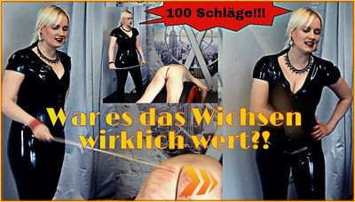 545 - 100 stokes - jerk off caning