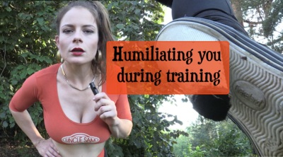 7023 - Humiliating you during training