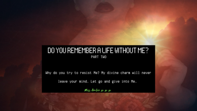 7999 - DO YOU REMEMBER A LIFE WITHOUT ME? PART 2 (AUDIO ONLY)