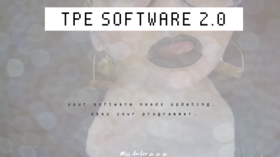 8000 - TPE SOFTWARE 2.0 (AUDIO ONLY)