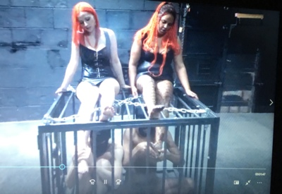 8287 - Caged Slaves - Punishment or Pleasure?