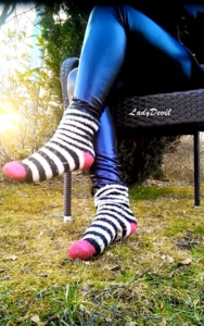 8620 - Socks and foot fetish